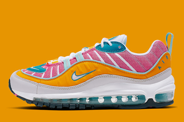 """b5aec1c40d The Nike Air Max 98 """"Easter"""" Is Available Now"""