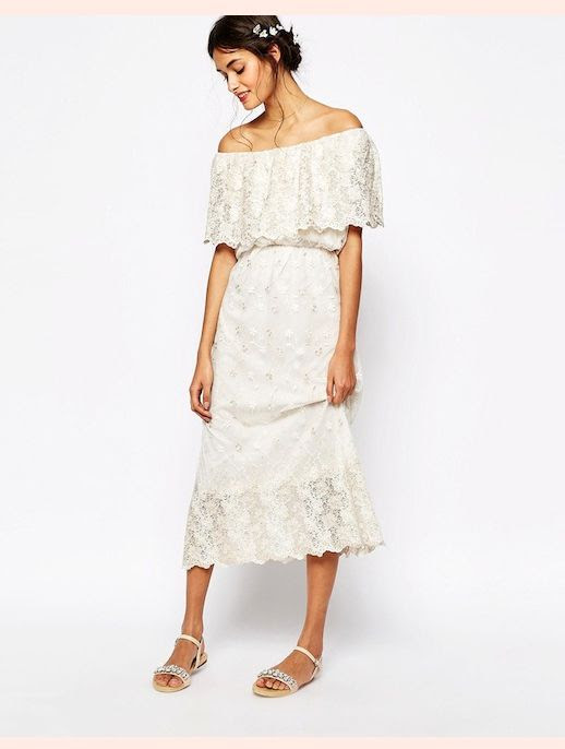 45 Wedding Dresses Under 500 Soma London Vintage Lace Off Shoulder Maxi Dress With Metallic Embroidery Budget Affordable Inexpensive photo 45-Wedding-Dresses-Under-500-Soma-London-Vintage-Lace-Off-Shoulder-Maxi-Dress-With-Metallic-Embroidery-Budget-Affordable.jpg