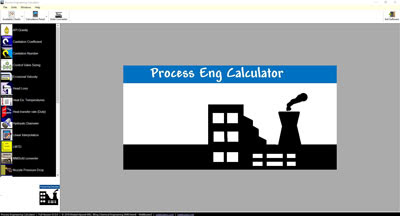 Process Engineering Calculator - WeBBusterZ Engineering