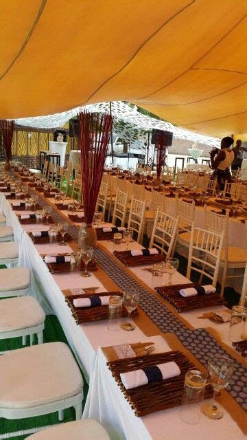 Modern african traditional wedding décor, wedding in