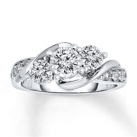 Radiant Reflections Diamond Ring 1 ct tw 14K White Gold