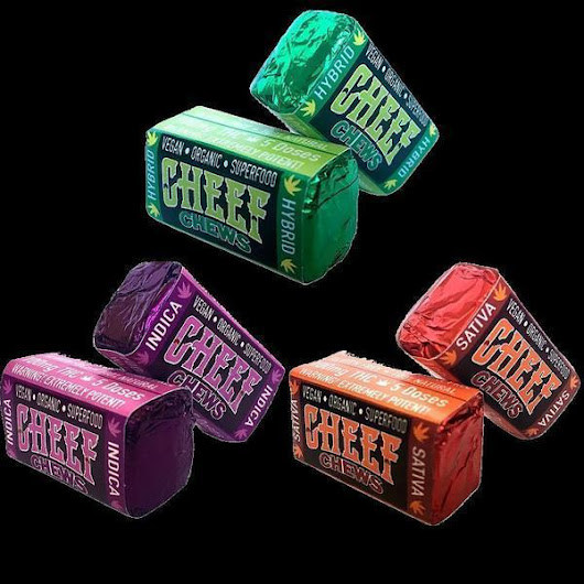 Cheef Chews CBD Candy Edibles Health Benefits
