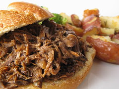 Shredded Beef Sandwiches