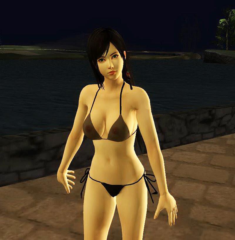 Gta San Andreas Kokoro Transparent Bikini Mod Gtainside Com