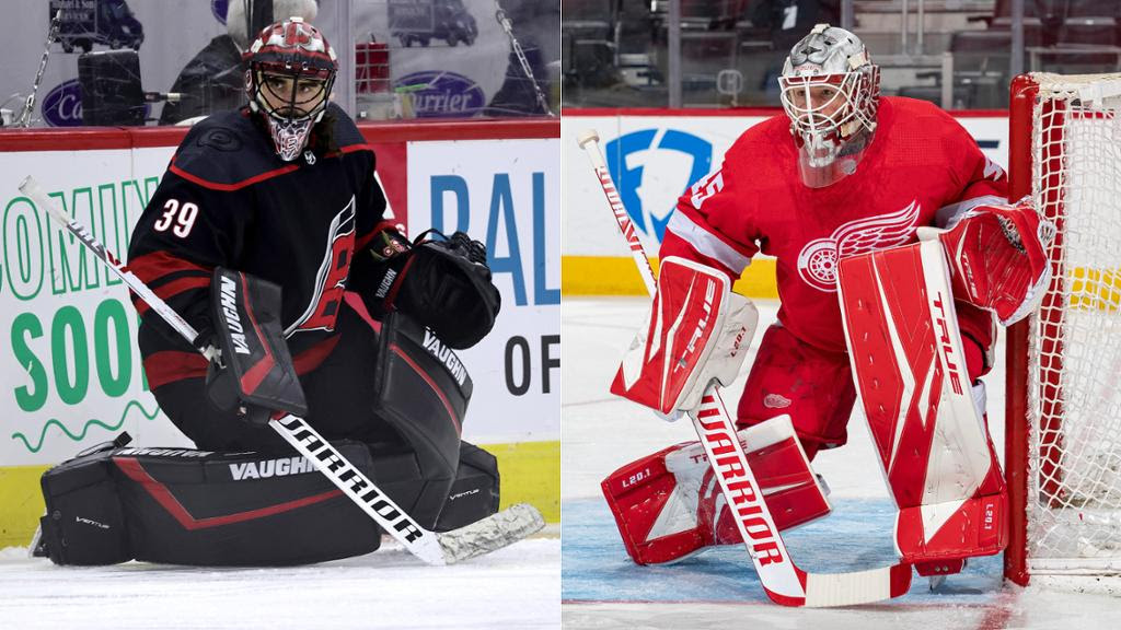 Nedeljkovic traded to Red Wings by Hurricanes for Bernier