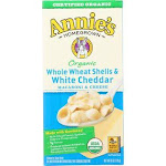 Annie's Homegrown Annies Homegrown Macaroni and Cheese - Organic - Whole Wheat Shells and White Cheddar - 6 oz - Case of 12
