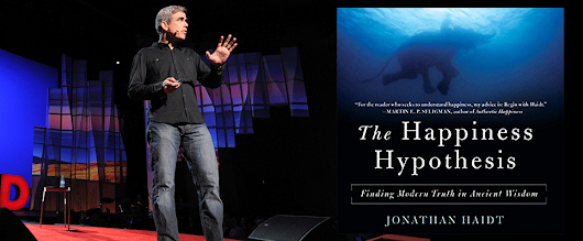 How to find happiness? Happiness Hypothesis by Jonathan Haidt