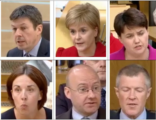 First Ministers Questions Review from Holyrood 020616