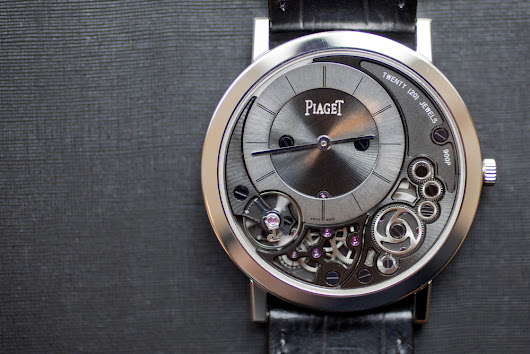 EXCLUSIVE: Introducing The Piaget Altiplano 38mm 900P, The Thinnest  Mechanical Watch In The World (Live Pics, Details, Pricing)
