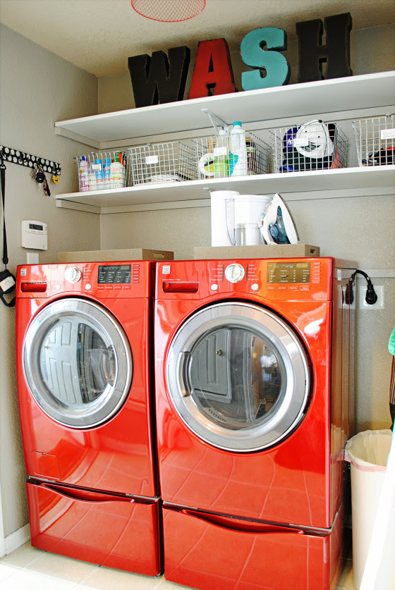 Kristi Dominguez's laundry room