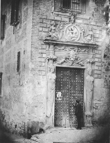 Colegio de Infantes (Toledo) a finales del siglo XIX. Fotografía de Casiano Alguacil