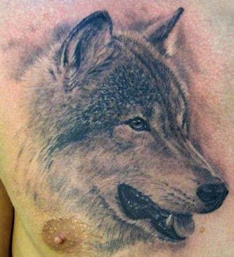 wolf tattoos. Sergey Rikhter - Wolf Tattoo