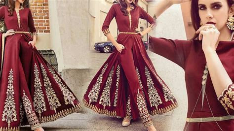 Latest Designer Dresses Designs: Indo Western Style