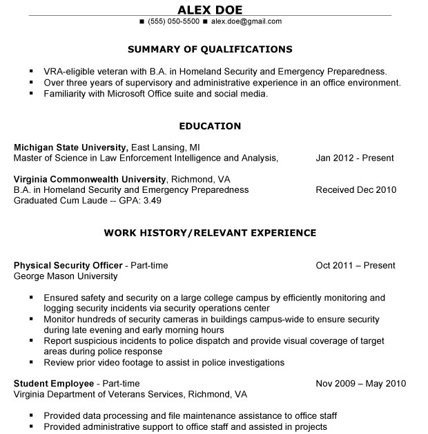 Veteran Resume Makeover Create A Resume That