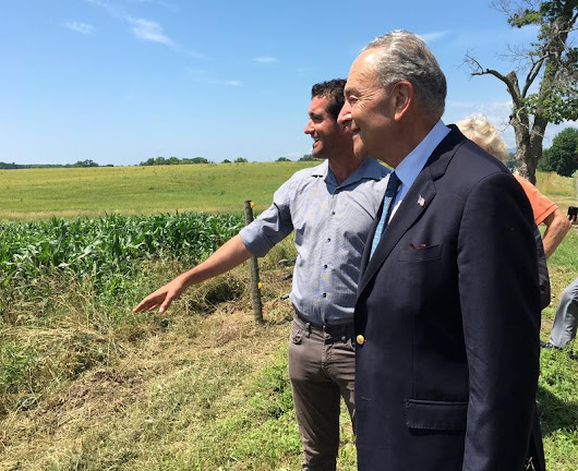 Schumer In Columbia County: Call To Relax Hemp Laws
