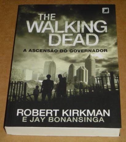 Resultado de imagem para livros the walking dead a ascensao do governador