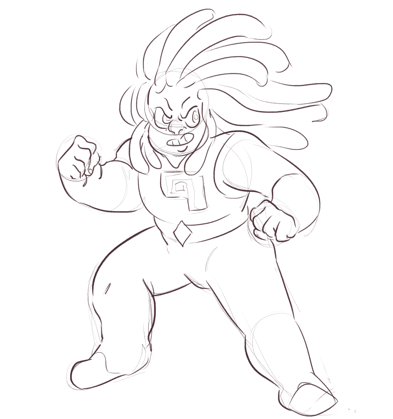 quick bismuth(??) sketch!!!!! my hands are dying comms | patreon