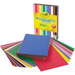 Crayola Construction Paper - Craft Project, School Project, Art - 9&qu