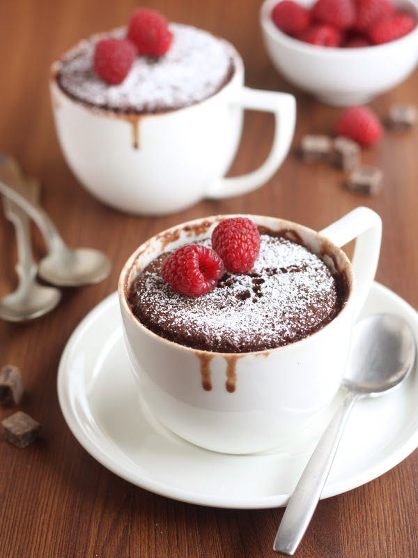 Two Minute Chocolate Mug Cake - Completely Delicious
