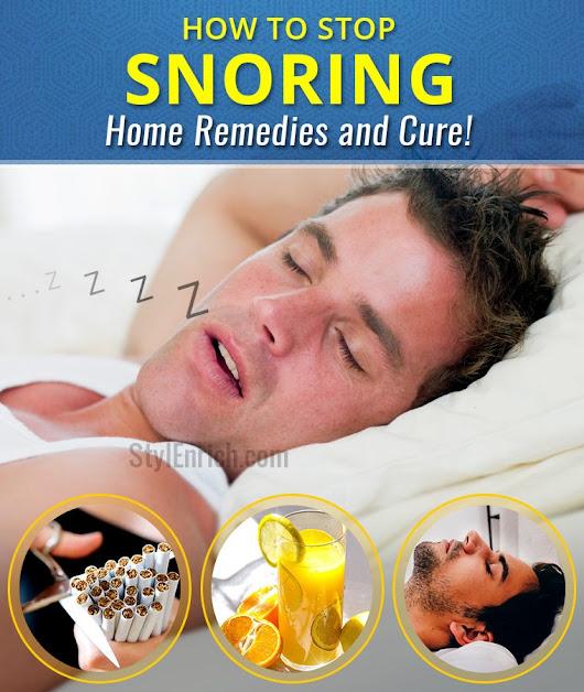How To Stop Snoring : Effective Home Remedies and Cure!