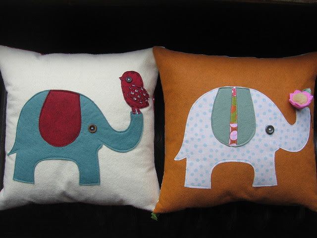 elephant pillow parade