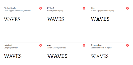 Check kerning of fonts with »WAVES«