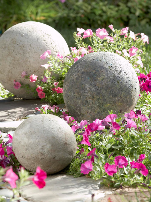 Cast in Stone: DIY Landscape Accent