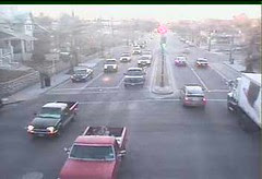 Image from DDOT's traffic camera at the intersection of South Dakota and Rhode Island Avenues, NE