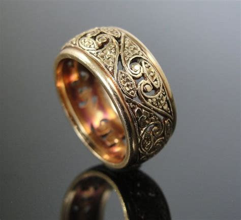 1000  ideas about Wide Wedding Bands on Pinterest   Wide
