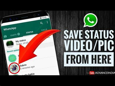 whatsapp status      click