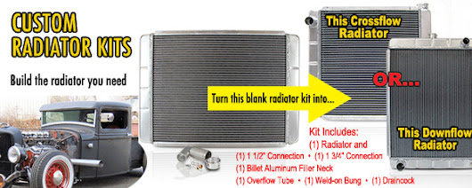 Radiator Express  ® Featured Add-Ons : CUSTOM RADIATOR KITS