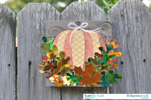 Fall Leaves Home Decor With DecoFoil