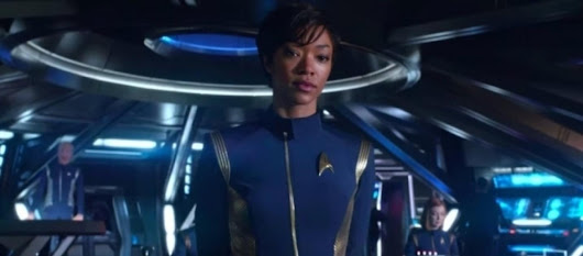 'Star Trek: Discovery' star responds to racist critics about her casting