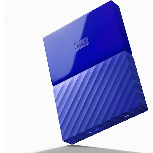 WD My Passport 1 TB External HDD - WDBYFT0010BBL - USB 3 0