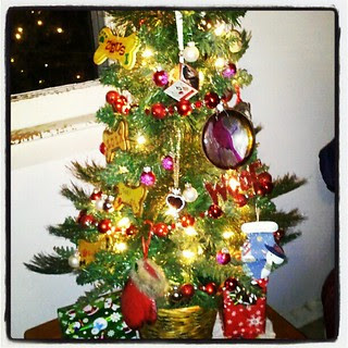 Our little #Christmas #tree ...