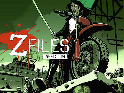 ZFiles: Infection - Comic, gamebook and zombie apocalypse by Greyman Studios — Kickstarter
