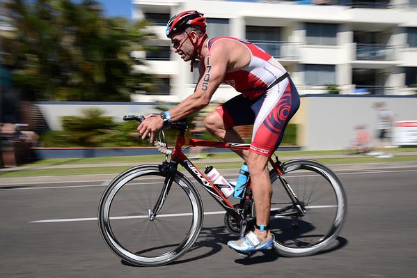 Bike Leg - Panning with slower shutter speed (
