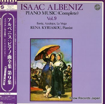 KYRIAKOU, RENA albeniz; piano music vol.9
