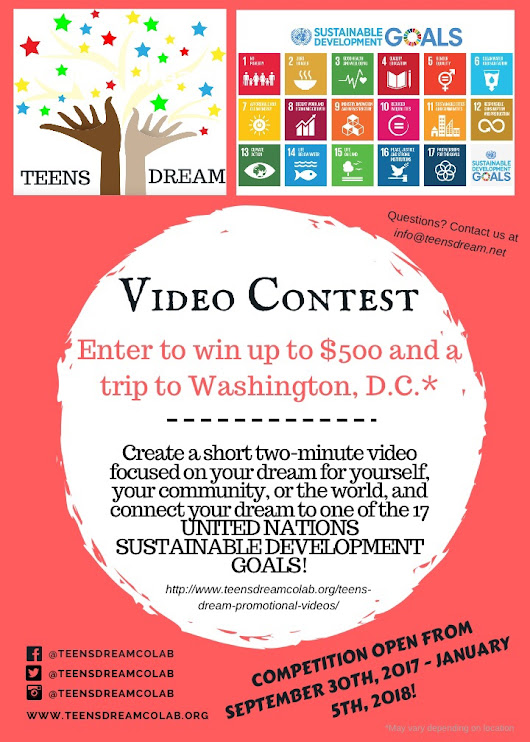 2017 Teens Dream Video Contest Accepting Applications | Turkish American Television