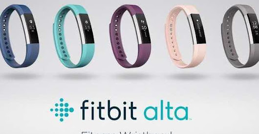 Fitbit Alta : le bracelet connecté, version up !