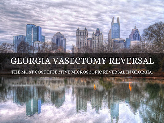 Take away? Success of vasectomy reversal not always related to the age of the patient. This is a common concern.