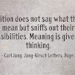 Carl Jung Depth Psychology | Carl Jung Quotations | Pinterest