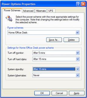 configuring power management Configuring Power Management