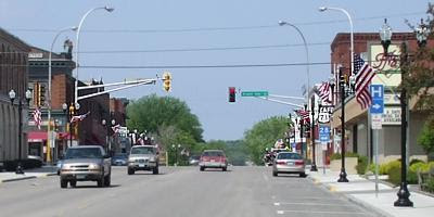 Memorial Day traffic, Sauk Centre