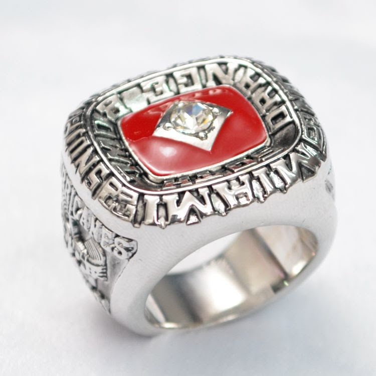 Fashion Customed Sport Jewelry Nfl 2012 Super Bowl Rings Championship Replica Ring For Men B068