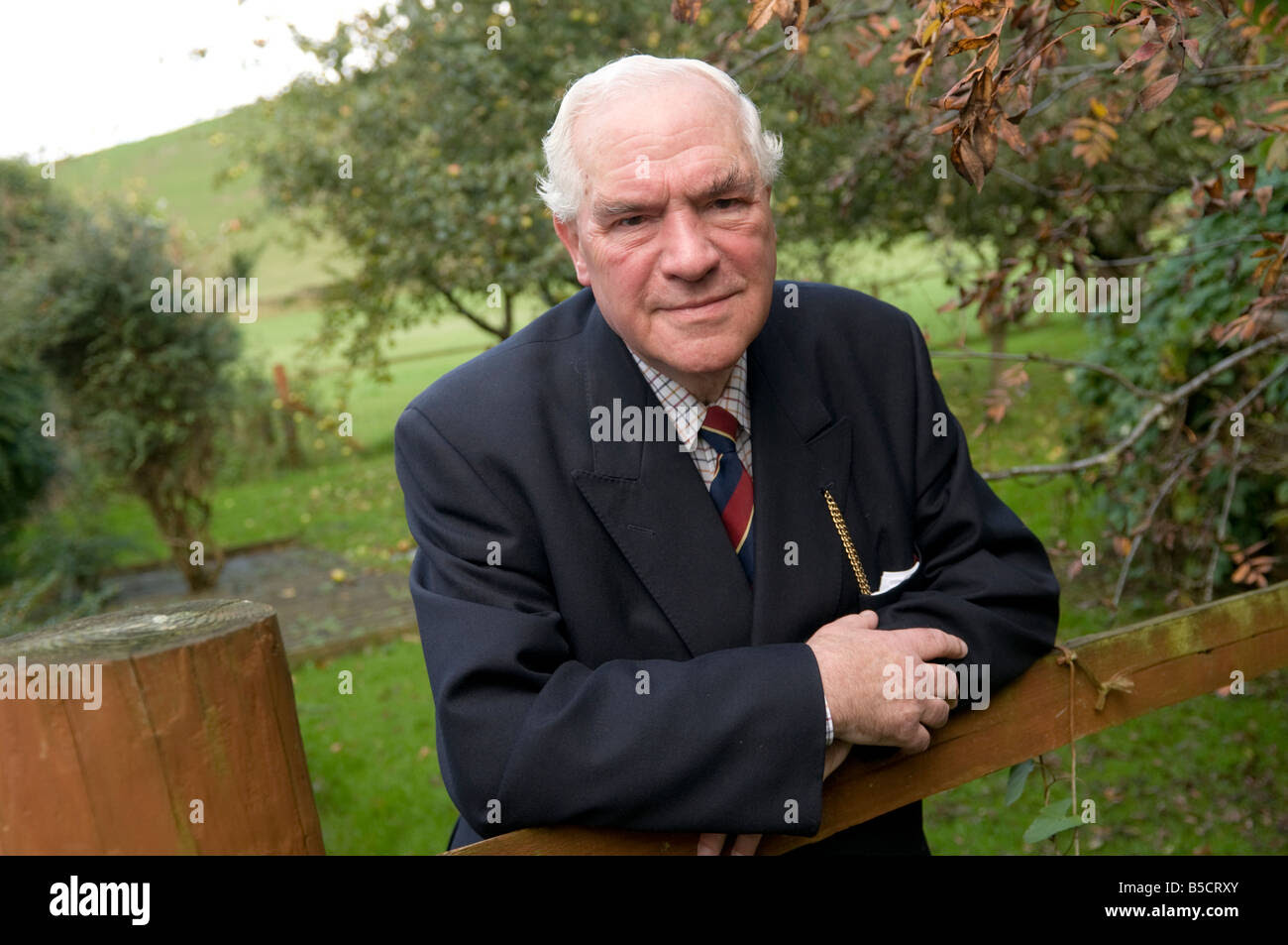 Lord Elystan Morgan welsh politician lawyer and statesman Stock Photo