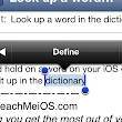 Quick Tip: How to look up a word in the dictionary on your iPhone, iPad (Mini), or iPod Touch