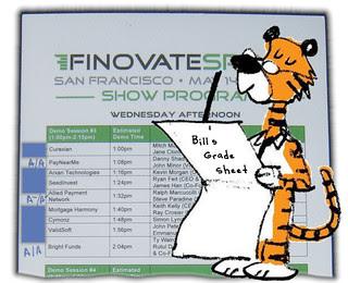 Bill's FinovateSpring 2013 Scorecard