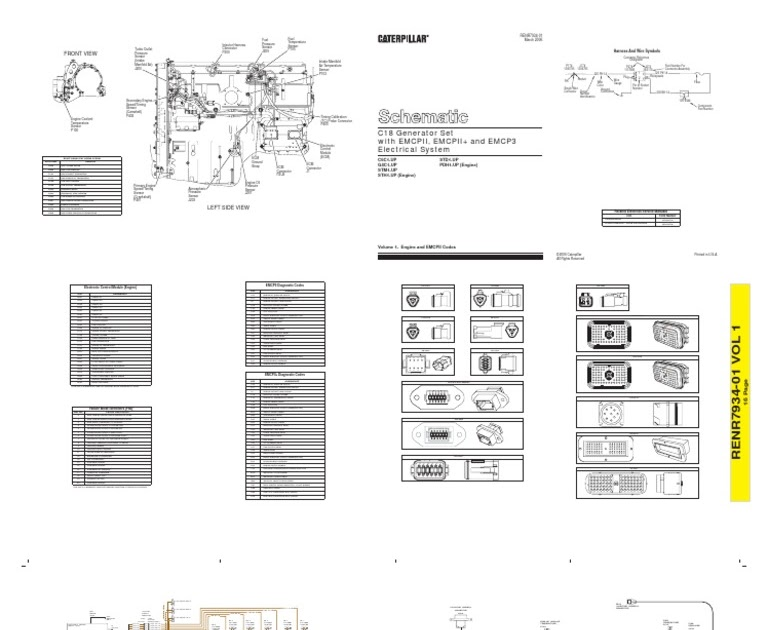 C18 Cat Engine Generator Wiring Diagram