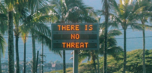How bad design caused Hawaii's false missile scare - TryMyUI Blog